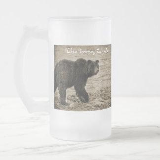 Grizzly in Antiquiteit Matglas Bierpul