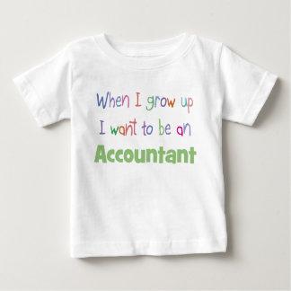 Groei de T-shirt van het Baby van de Accountant