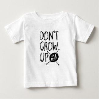Groei niet, is het een val kinder T-shirt