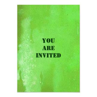 Groen Bier voor St. Patrick de Uitnodigingen van 12,7x17,8 Uitnodiging Kaart