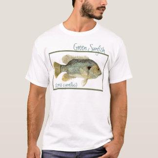Groen Casual Overhemd Sunfish T Shirt