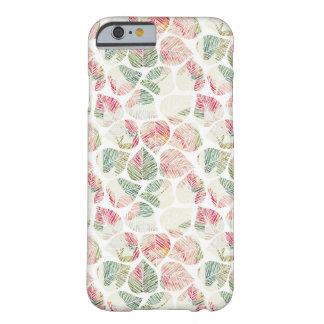 Groen en roze Tropisch de telefoonhoesje van de Barely There iPhone 6 Hoesje