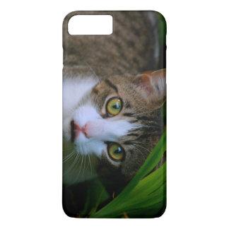 Groen Eyed Kat iPhone 7 Plus Hoesje