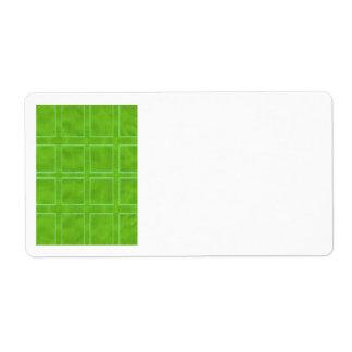 Groen Goud - het Collectie van de Regeling van het Etiket