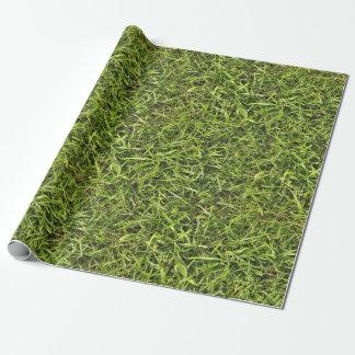 Groen Gras Cadeaupapier