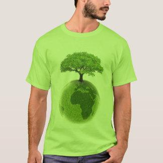 Groen het gaan t shirt