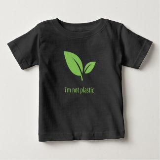 Groen het Leven   Groen Zwart Grafisch Ontwerp Baby T Shirts
