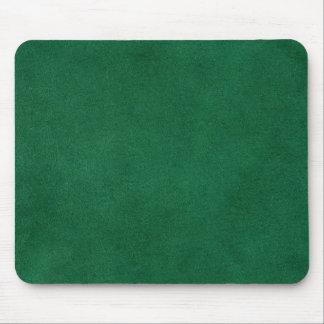 Groen leer muismat