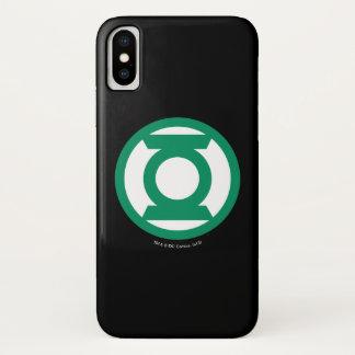 Groen Logo 13 van de Lantaarn iPhone X Hoesje