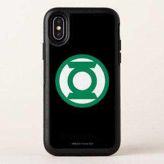Groen Logo 13 van de Lantaarn OtterBox Symmetry iPhone X Hoesje