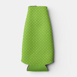 Groen met Gele Stippen Flesjeskoeler