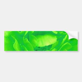 Groen nam de Klantgerichte Sticker van de Bumper - Bumperstickers