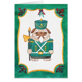 groen notekrakerpug briefkaarten 0