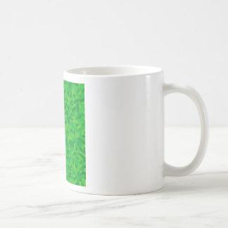 groen patroon koffiemok
