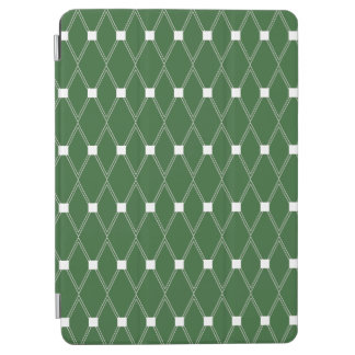 Groen Rooster Argyle iPad Air Cover