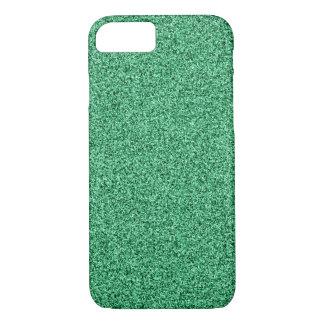 Groen schitter iPhone 8/7 hoesje