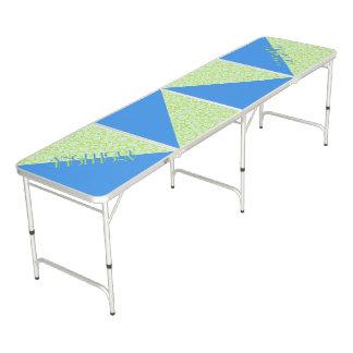 Groenachtig blauwe Limoen van de Mode van de Beer Pong Tafel