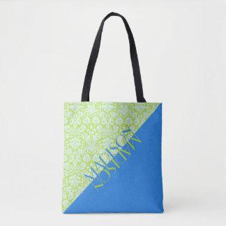 Groenachtig blauwe Limoen van de Mode van de Draagtas