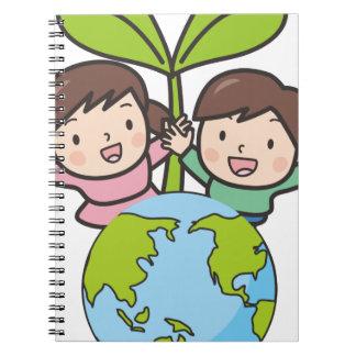 Groene Aarde Ringband Notitieboek