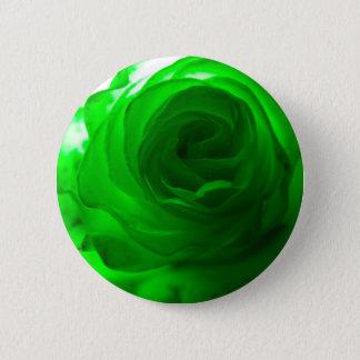 Groene Afgunst Rose.jpg Ronde Button 5,7 Cm