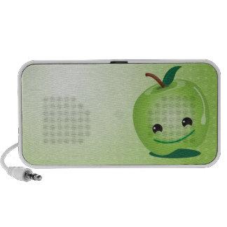Groene appel leuke sprekers luidspreker