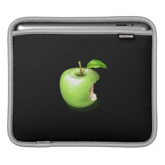 Groene appel op de koker van de Riksja iPad iPad Sleeve