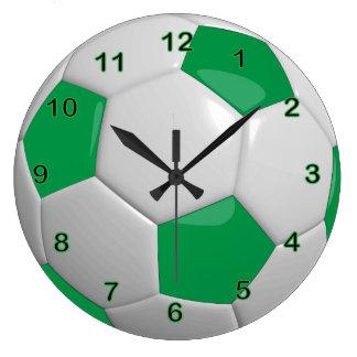 Groene Bal | van het voetbal Grote Klok