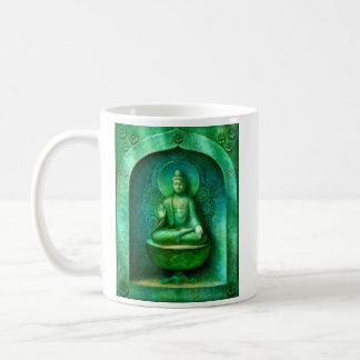 Groene Boedha Koffiemok