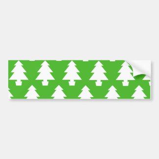 Groene Bomen Bumpersticker