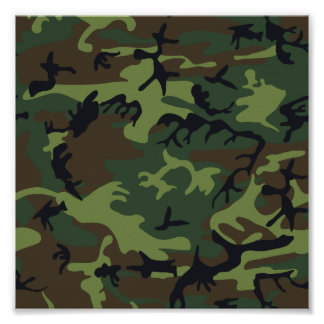 Groene camouflage poster