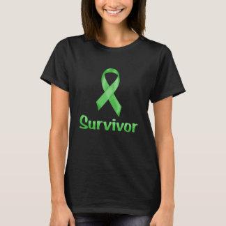 Groene de Overlevende van kanker T Shirt