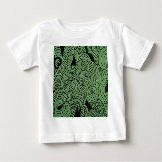 Groene de Vorming van de ether Baby T Shirts