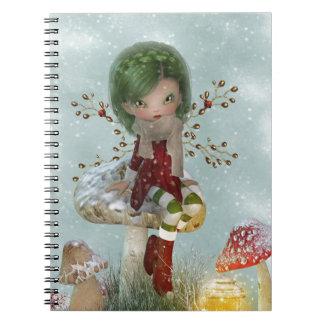 groene de winter ringband notitieboek