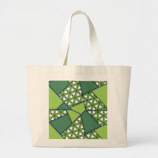 Groene de Zak van het lapwerk Tassen