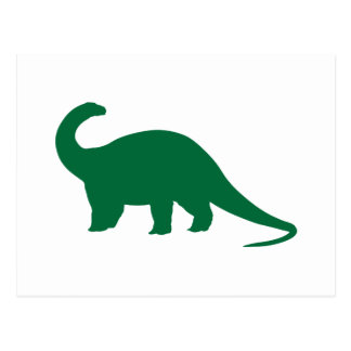 Groene Dinosaurus Briefkaart