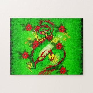 Groene Draak Legpuzzel