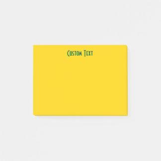 Groene Gele Tekst | Post-it® Notes