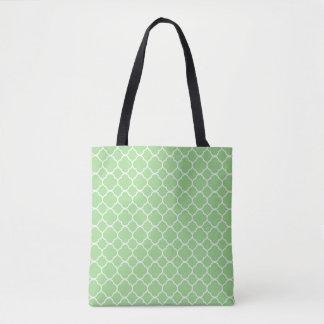 Groene Gevormd Geometrisch Draagtas