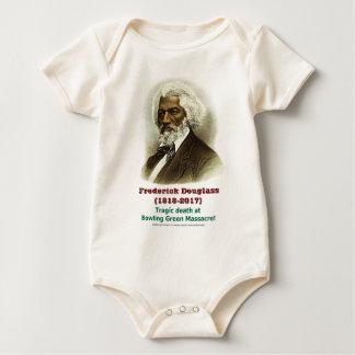 Groene het Kegelen van Frederick van Douglass Baby Shirt