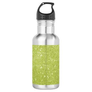 Groene het limoen schittert Fonkelingen Waterfles