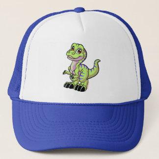 Groene het pet van Toon rex