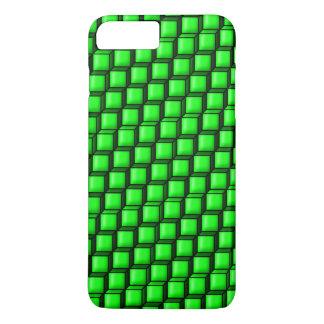 Groene iPhone 7 van Vierkanten nauwelijks daar iPhone 8/7 Plus Hoesje