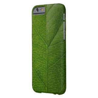 Groene iPhone van het Blad 6/6s Barely There iPhone 6 Hoesje