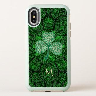 Groene Keltische iPhone X van Mandala Otterbox van