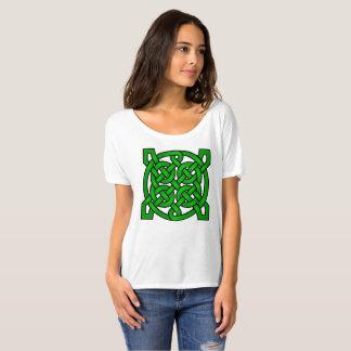 Groene Keltische Knopen T Shirt