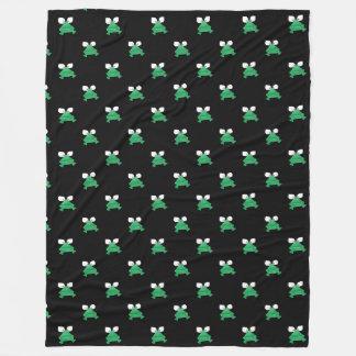 Groene Kikkers op de Zwarte Deken van de Vacht
