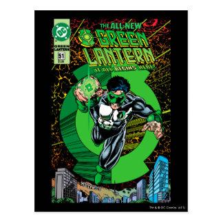 Groene Lantaarn - het allen begint hier Briefkaart