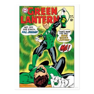 Groene Lantaarn - krijg van dit Earch Hal Jordan Briefkaart