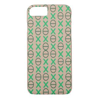 Groene neutraal van de CODE iPhone 7 Hoesje