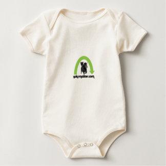 groene regenboog baby shirt